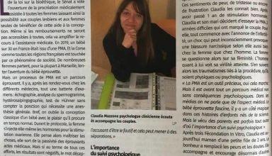 Article Claudia Mazzone